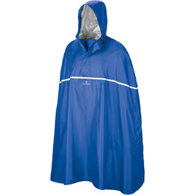 Ferrino Dryride Poncho Unisex blau